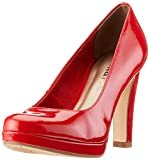 Tamaris Damen 1-1-22426-22 Pumps, Rot (Chili PATENT 520), 42 EU