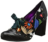 Poetic Licence by Irregular Choice Farrah Flower, Damen Pumps, Schwarz (Schwarz), 39 EU (6 UK)