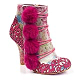 Irregular Choice Slummber Party, Damen Stiefel & Stiefeletten rosa Rose, rosa - Rose - Größe: 40