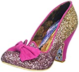 Irregular Choice Damen Nick of Time Pumps, Pink (Pink/Gold), 38 EU (5 UK)