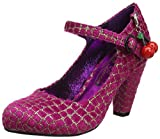 Poetic Licence by Irregular Choice The Right Stripes, Damen Mary Jane Halbschuhe, Rosa (Rosa/Schwarz), 38 EU (5 UK)