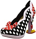 Irregular Choice Damen Minnie Mouse Pumps, Schwarz (A), 38 EU