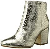 Buffalo Shoes Damen 416-6358 Metallic Snake PU Stiefel, Gold (Gold 01), 37 EU