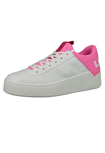 LEVI'S Women - Oversized logo leather Mullet Sneakers - Number 38