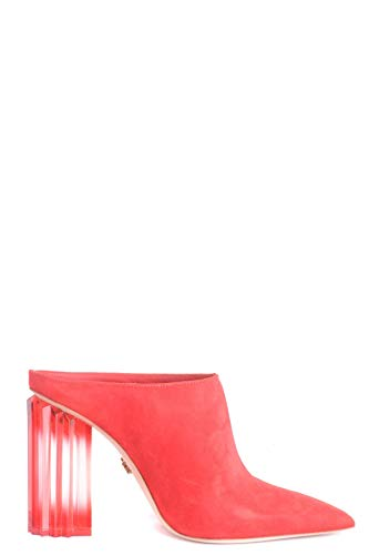 Luxury Fashion | Le Silla Damen MCBI35017 Rot Wildleder Stiefeletten | Jahreszeit Outlet