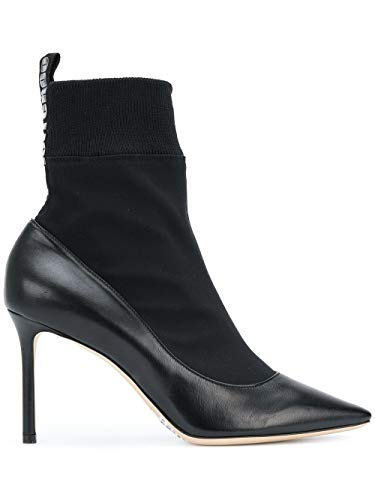 JIMMY CHOO Luxury Fashion Damen BRANDON85ASXBLACK Schwarz Polyamid Stiefeletten | Jahreszeit Outlet