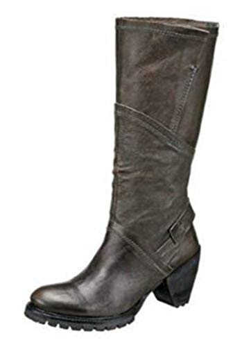 Too by Virus Stiefel Leder in Farbe Anthrazit Gr. 36
