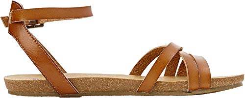 Blowfish Damen Galie Römersandalen, Brown (Scotch), 38 EU(5 UK)