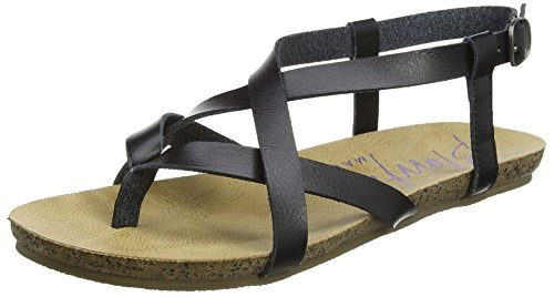 Blowfish Damen Granola Sandalen, Schwarz (Black), 38 EU (5 UK)