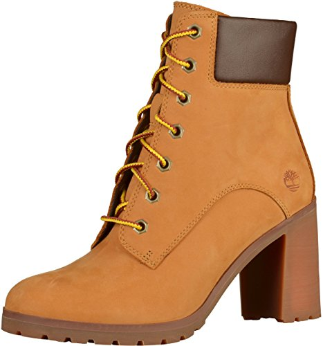 Timberland Damen Allington 6 Inch Lace-Up Stiefel, Gelb (Wheat), 37 EU