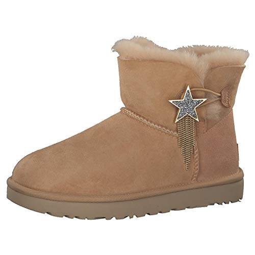 UGG Damen Mini Bailey Star Stiefel, Bronzer, 38 EU