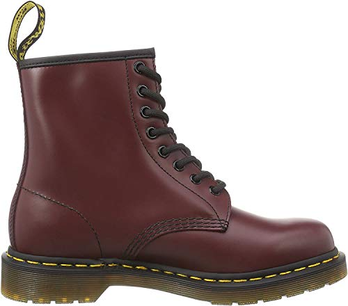 Dr. Martens 1460 Smooth, Unisex-Erwachsene Combat Boots, Rot (1460 Smooth 59 Last CHERRY RED), 42 EU