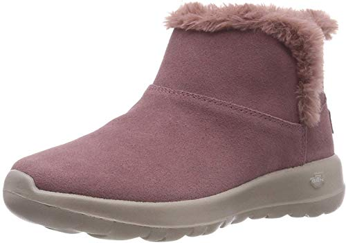 Skechers Damen ON-The-GO Joy-Bundle UP-15501 Kurzschaft Stiefel, Violett (Mauve Mve), 39 EU