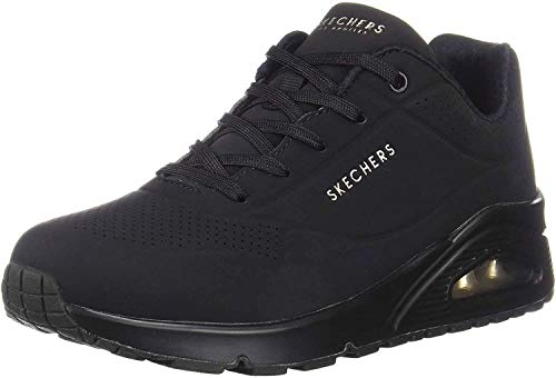 Skechers Damen 73690-BBK_41 Sneakers, Black, EU