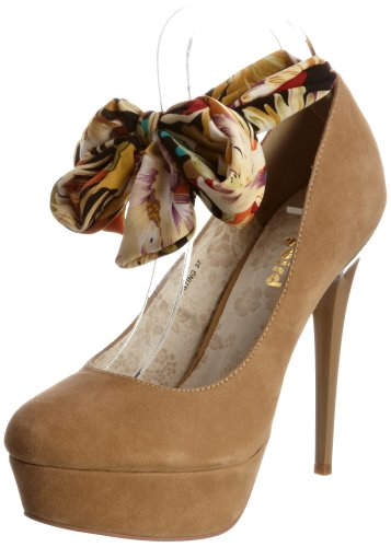 Dollybird Sting DBS12022, Damen Pumps, Braun (Nude Suede), 35,5 EU / 3 UK