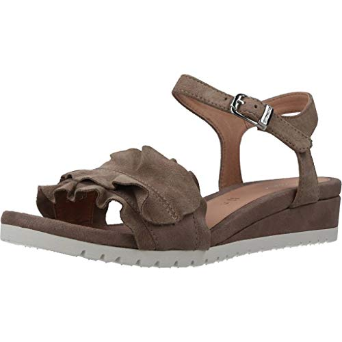 Stonefly - cher 8 woman suede sandal - 40 - taupe