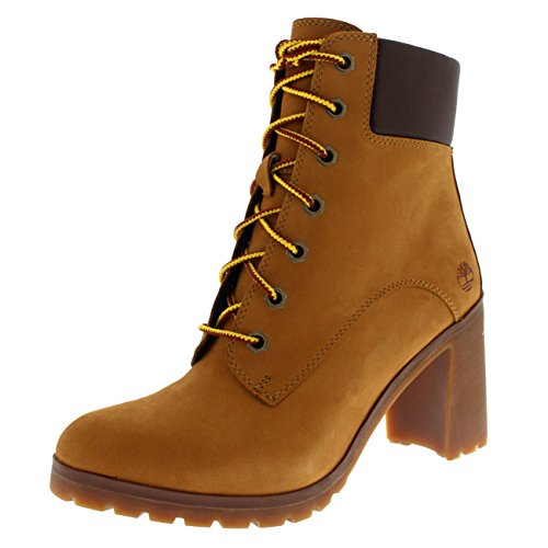 Timberland Damen Allington 6 Inch Lace-Up Stiefel, Gelb (Wheat), 39.5 EU