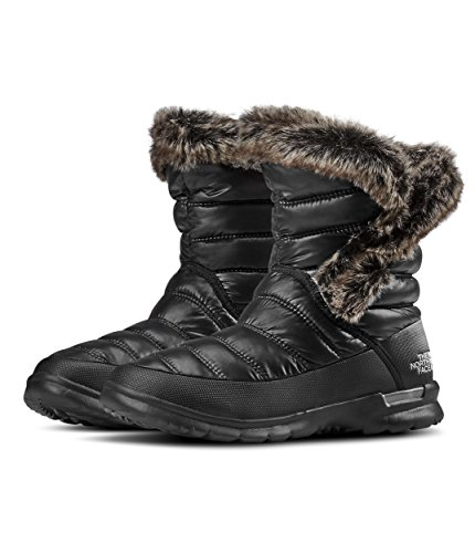 The North Face Thermoball Microbaffle Bootie II Damen US 6 Schwarz
