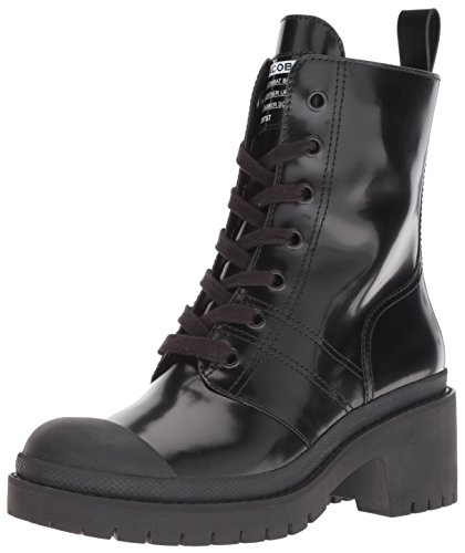 Marc Jacobs Damen Bristol Laced UP Boot Stiefelette, schwarz, 37 EU