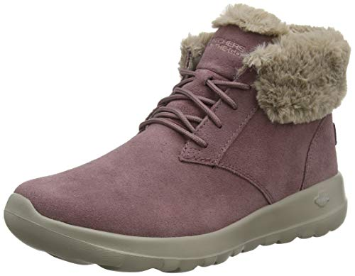 Skechers Damen On-the-go Joy Kurzschaft Stiefel, Violett(Mauve Suede/Trim Mve), 38 EU