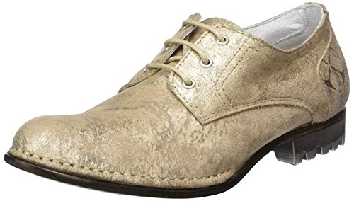 Goldmud Damen Kolpino Summer Lady Derby, Beige (Gold Strike Mouton), 40 EU