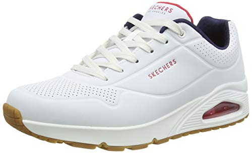 Skechers Herren UNO Stand ON AIR Sneaker, Natural, 44 EU