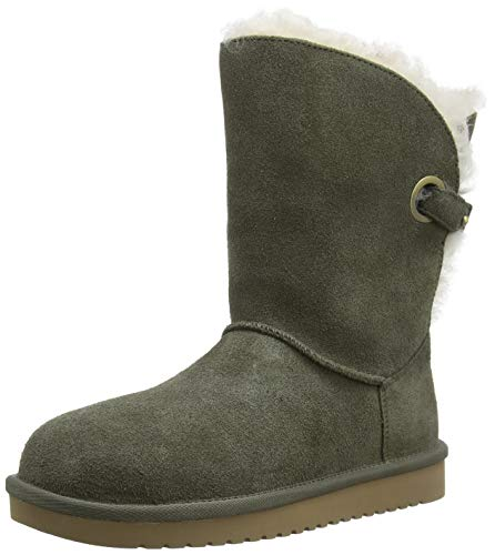 KOOLABURRA BY UGG Women's W KOOLA WRAP Short Hohe Stiefel, Dusty Olive, 40 EU