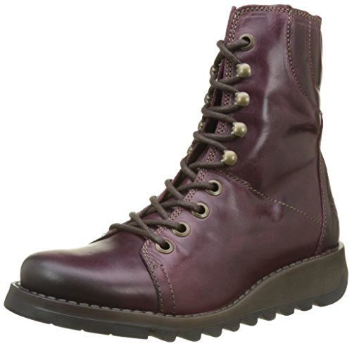 Fly London Damen Same109fly Stiefel, Violett (Purple), 39 EU