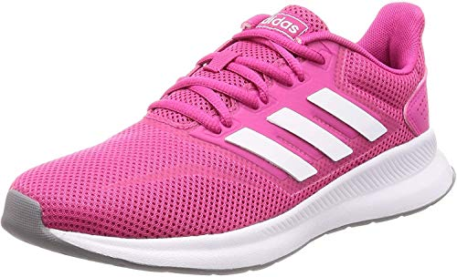 adidas Women's Falcon Running Shoes, Red (Real Magenta/Ftwr White/Grey Three F17), (UK -5.5) (EU - 38 2/3)
