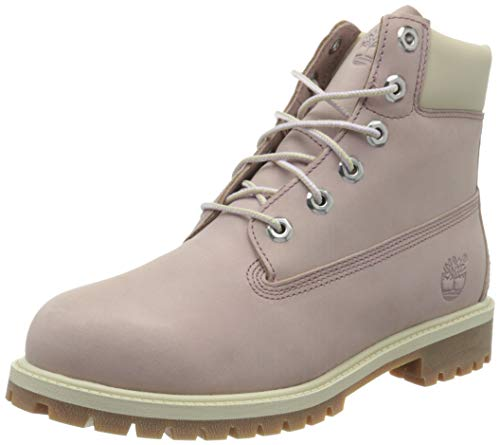 Timberland Damen 6 Inch Premium Waterproof (Junior) Klassische Stiefel, Violett (Medium Purple Nubuck), 39.5 EU