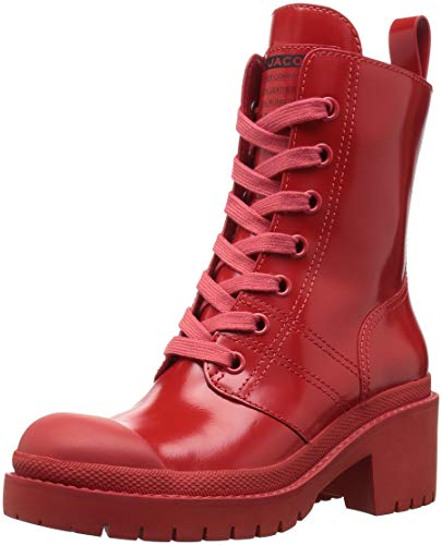 Marc Jacobs Damen Bristol Laced UP Boot Stiefelette, rot, 41 EU
