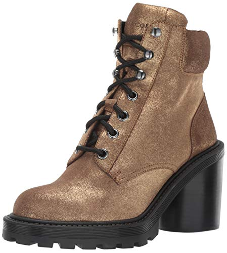 Marc Jacobs Damen Crosby Hiking Boot Stiefelette, Gold, 40 EU