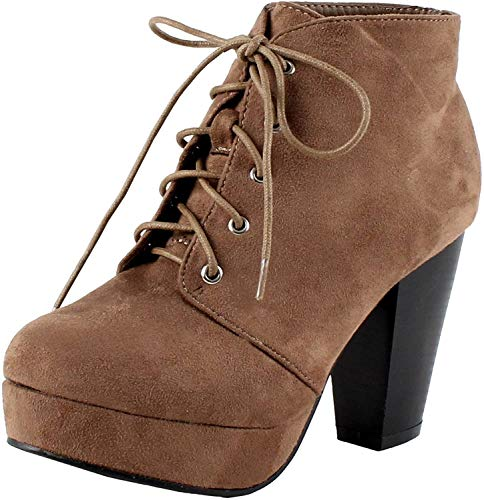 Forever Link CAMILLE-86 Damen Schuh Taup 6