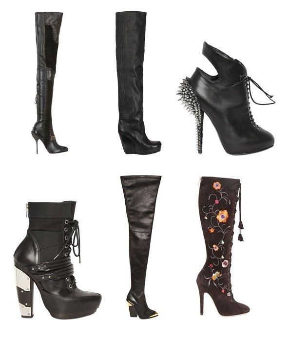 Luxusstiefel im Winter 2012 - mehr Glamour geht nicht