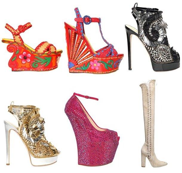 Was sind die Schuh Trends im Jahre 2013?