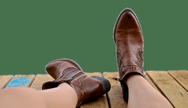 Stiefel kurzen Beine