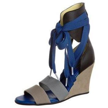 adidas Originals MESOA WEDGE Schaftsandalette black/blue