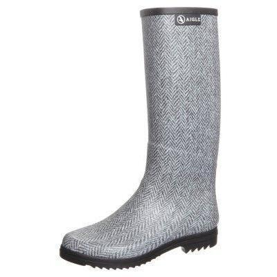 Aigle CHANTABELLE Gummistiefel gris/tweed