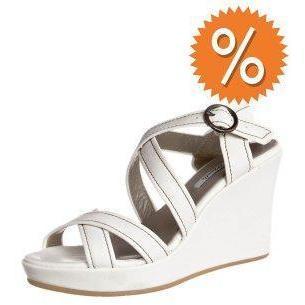 Andrea Morelli High Heel Sandalette bianco latte