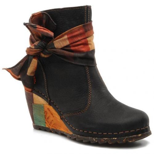 art art copenhagen 533 boots und stiefeletten f r damen schwarz designer stiefel. Black Bedroom Furniture Sets. Home Design Ideas