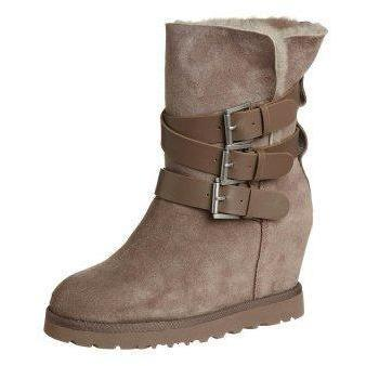 Ash YES Keilstiefelette taupe