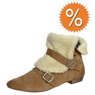 Bronx Ankle Boot camel/ natur