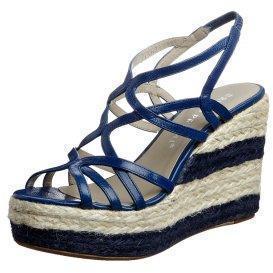 Bruno Premi CAPRA High Heel Sandalette blu