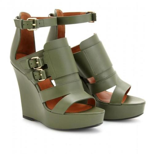 Givenchy Corinne Lederwedges