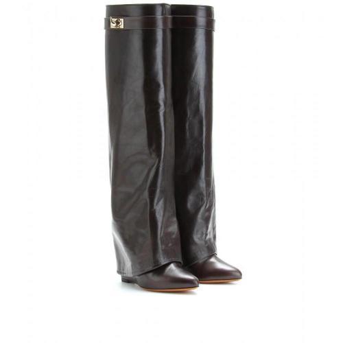 Givenchy Wedge-Reiterstiefel Dark Brown