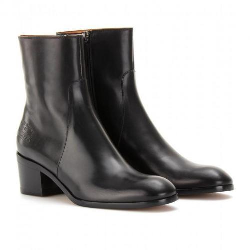 Gucci Betis Glamour Ankle-Boots aus Leder