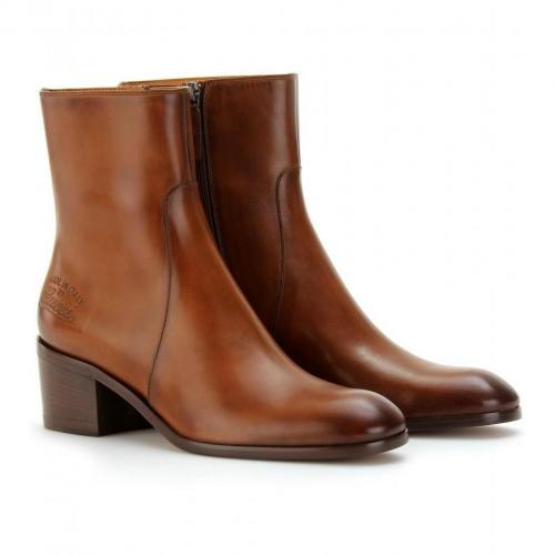 Gucci Betis Glamour Ankle-Boots aus Leder Cuir