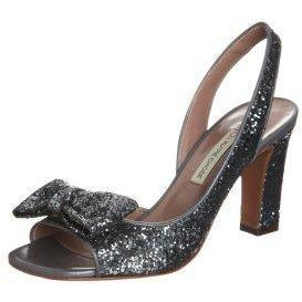 L'Autre Chose Peeptoe dark grey