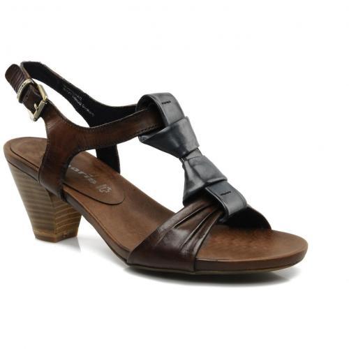 tamaris push by tamaris sandalen und sandaletten f r. Black Bedroom Furniture Sets. Home Design Ideas