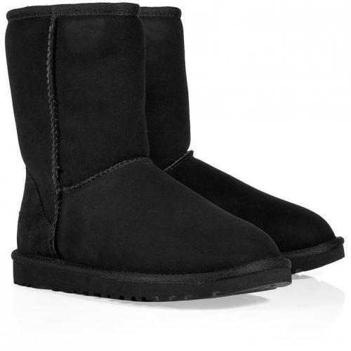 UGG Australia Black Classic Short Boots